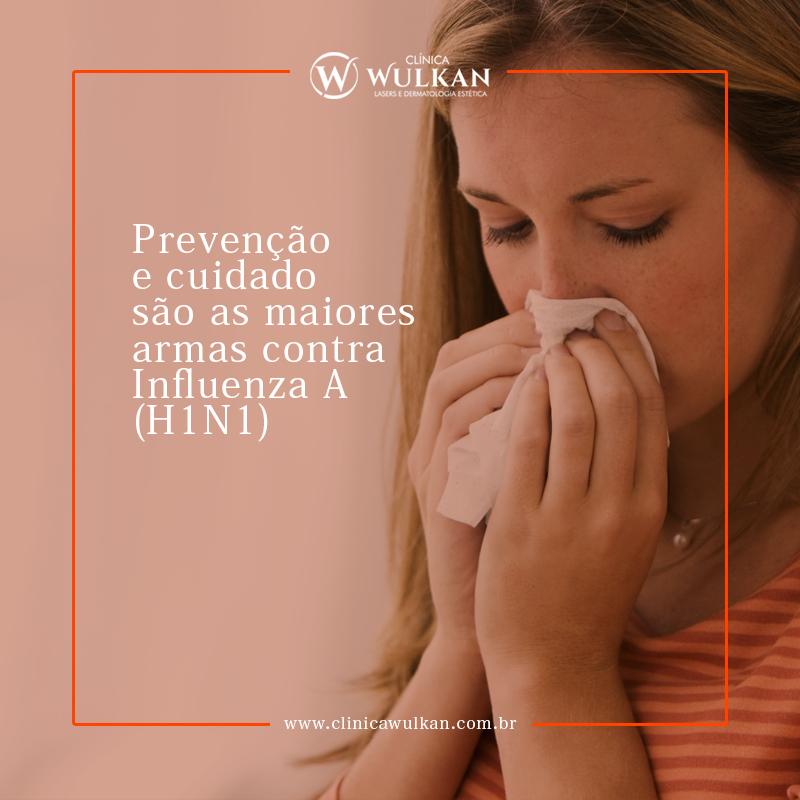 Prevenção e cuidado contra (H1N1)