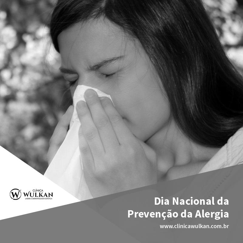 Dia Nacional da Prevenção da Alergia