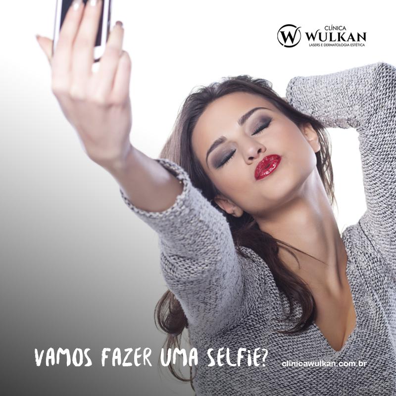 Vamos fazer uma selfie?