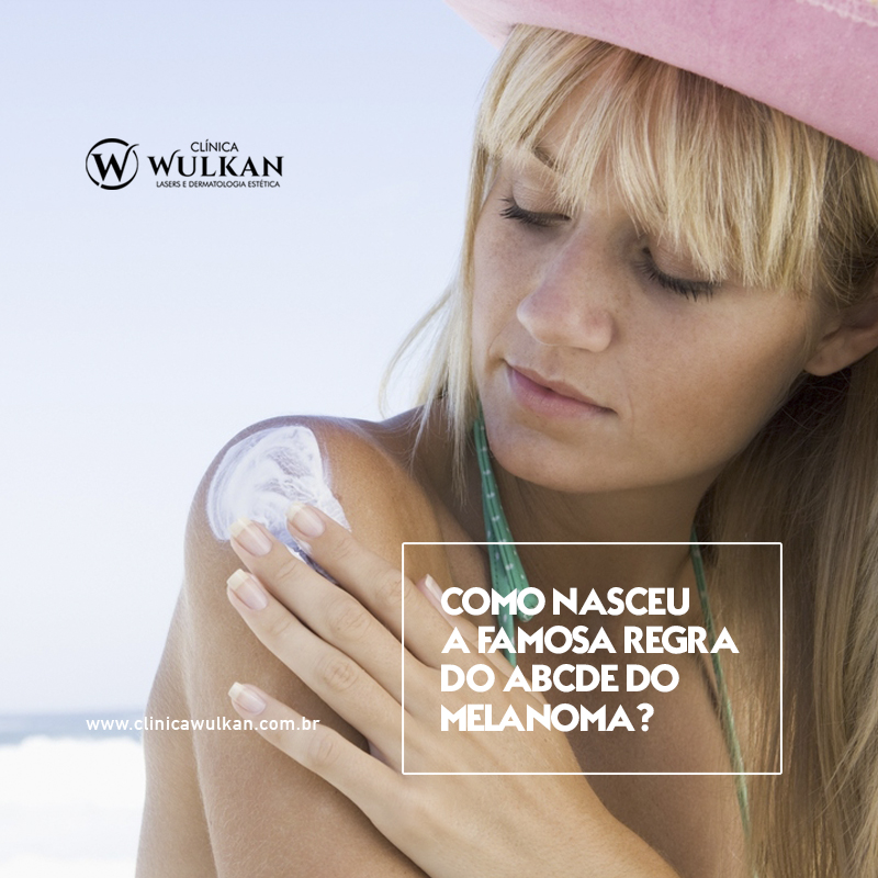 A regra do ABCDE do melanoma?