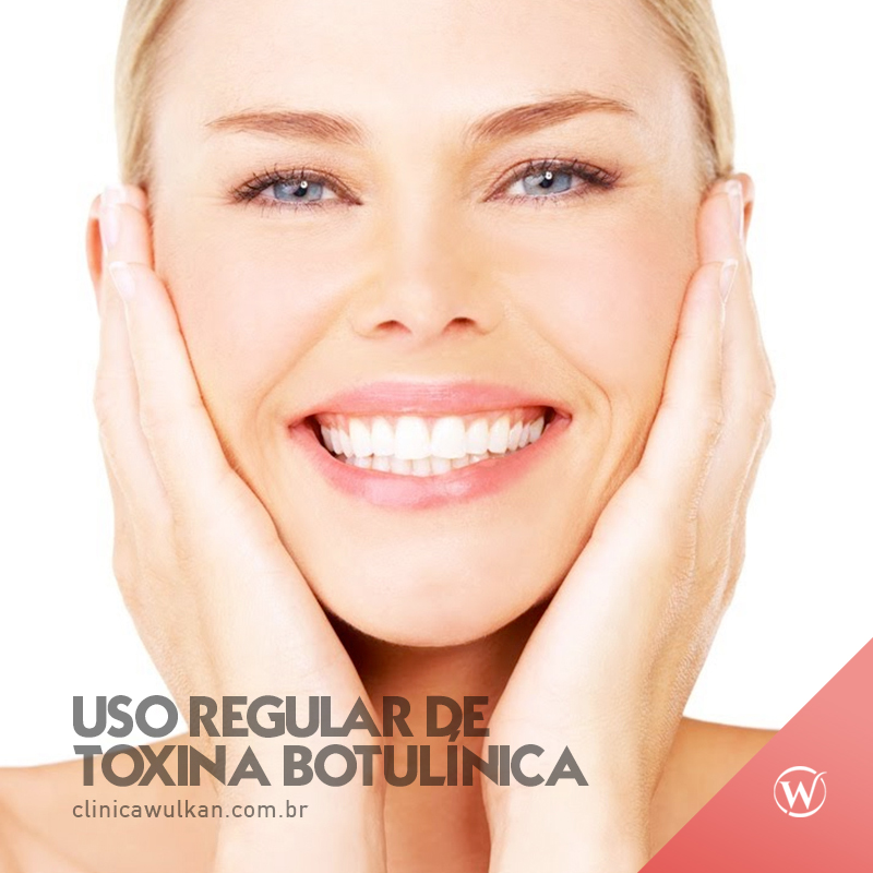 Uso regular de toxina botulínica