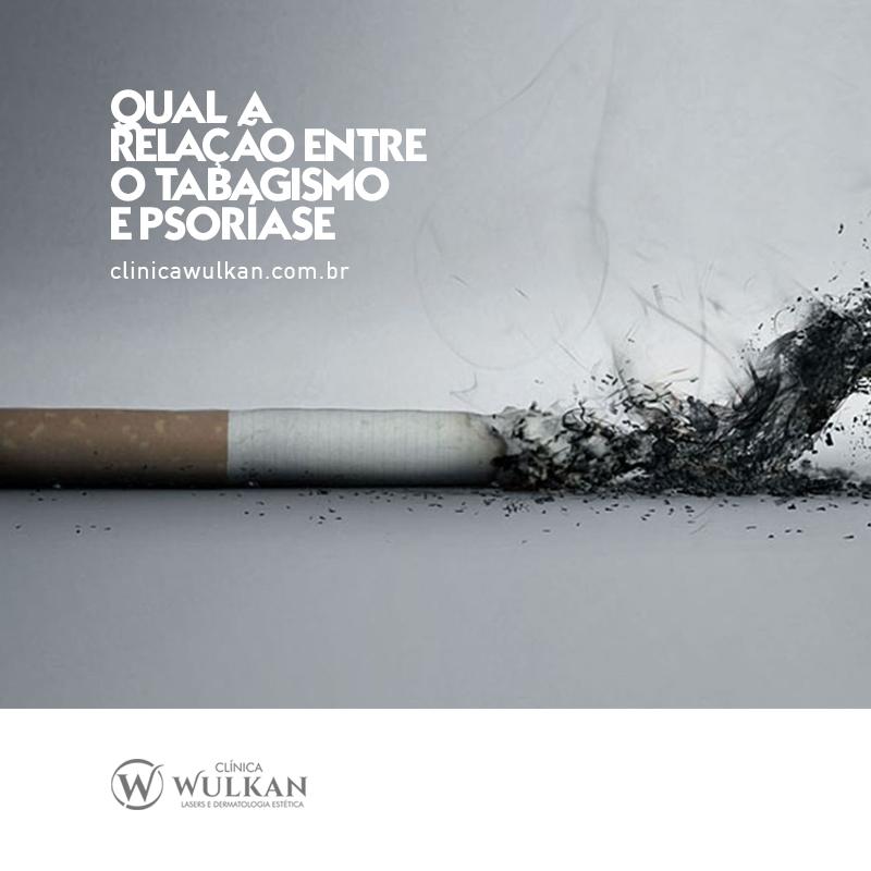 Qual a relação entre o tabagismo e psoríase