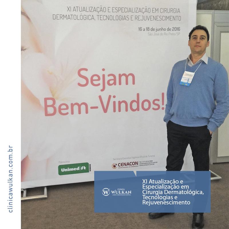 XI Atualização e Especialização em Cirurgia Dermatológica, Tecnologias e Rejuvenescimento