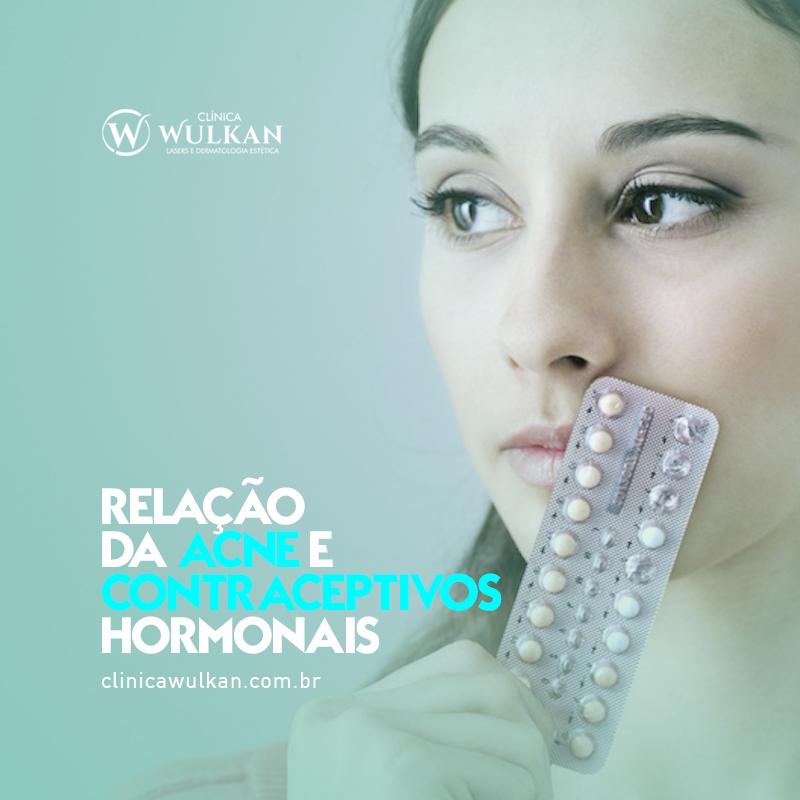 Relação da Acne e Contraceptivos Hormonais