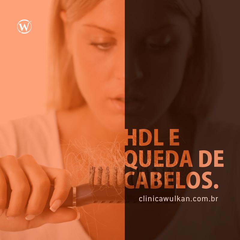 HDL e Queda de Cabelos.