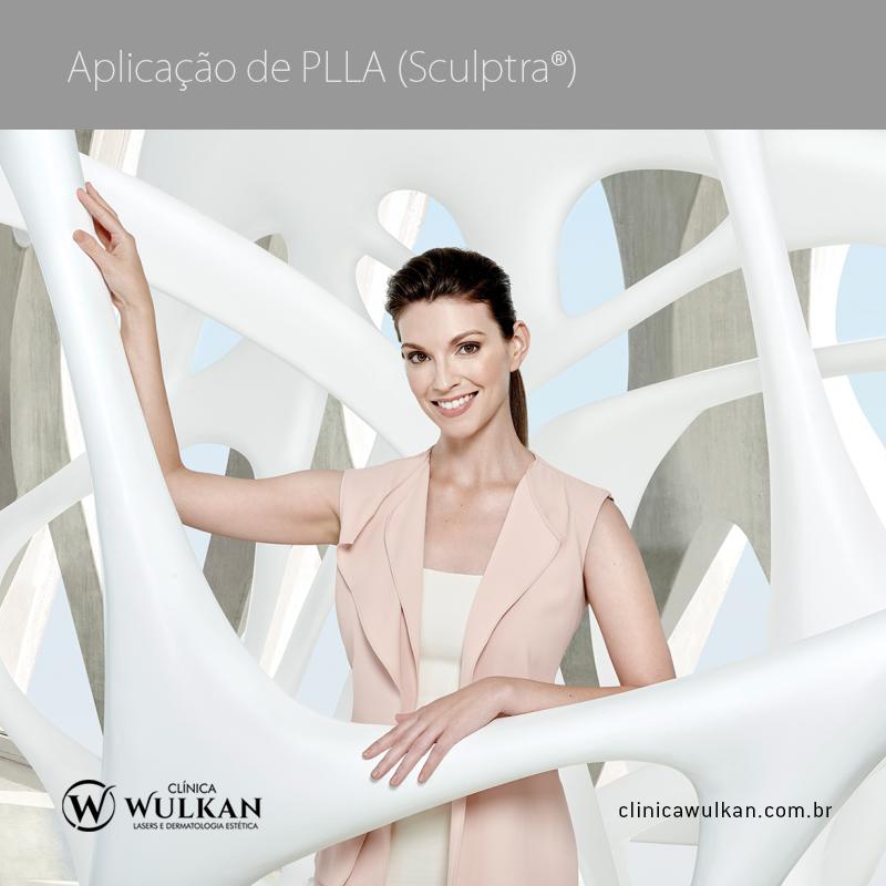 Aplicação de PLLA (Sculptra®)