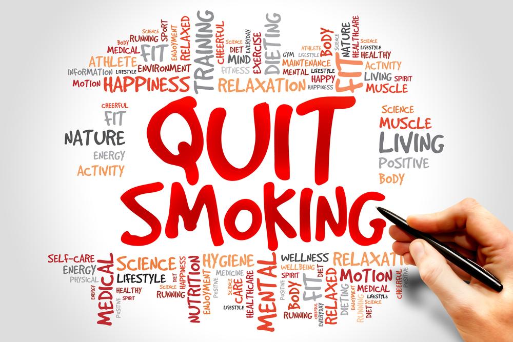 Se deixei de fumar a nicotina