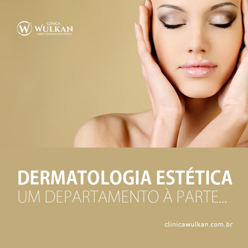 Dermatologia Estética – Um departamento à parte...