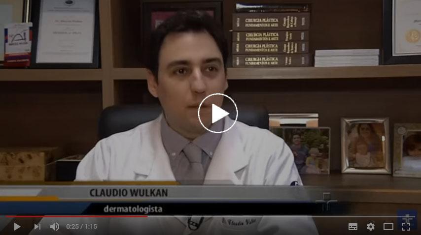 Entrevista Dr Claudio Wulkan TV Cultura - poluição e pele