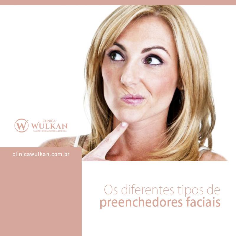 Os diferentes tipos de preenchedores faciais