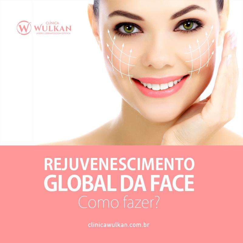 Rejuvenescimento global da face - Como fazer?