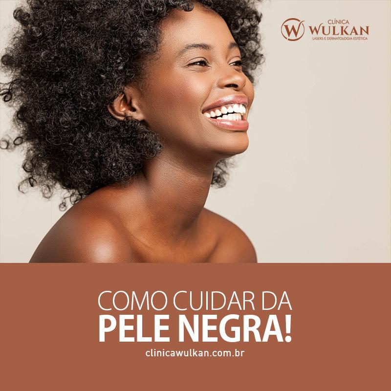 Cuidados com a pele negra: como evitar manchas, acne, foliculite e outros.