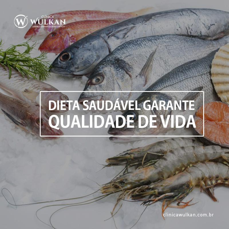 Dieta saudável garante qualidade de vida