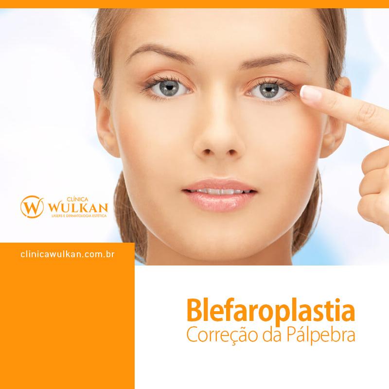 Blefaroplastia - Correção da Pálpebra