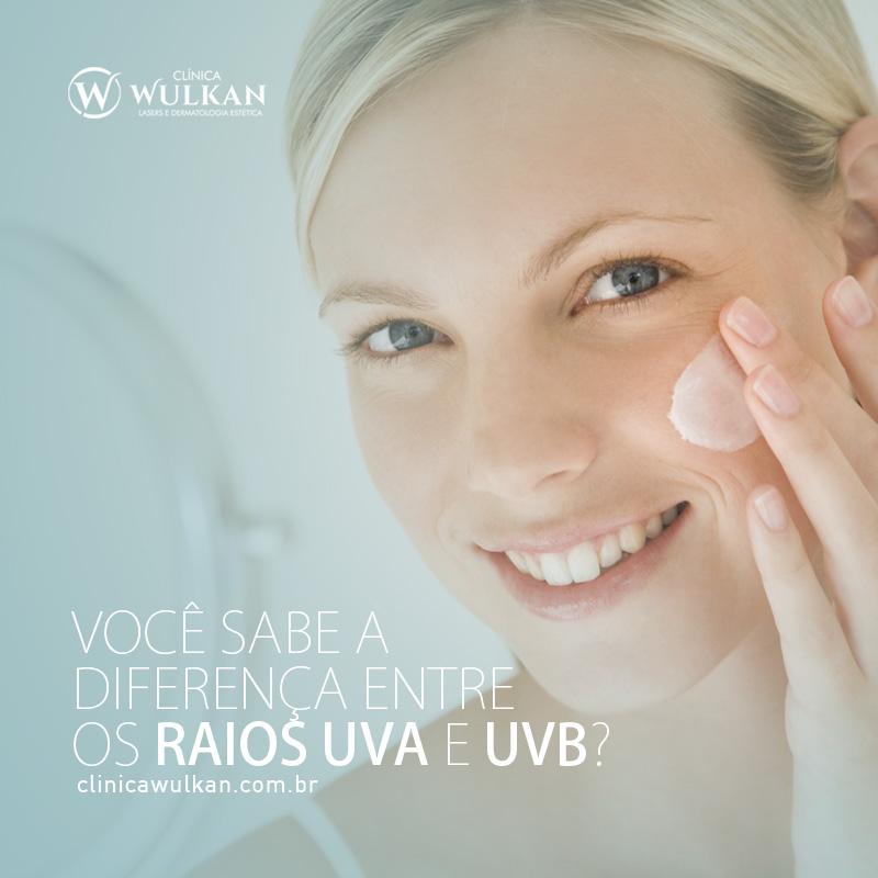 Você sabe a diferença entre os raios UVA e UVB?