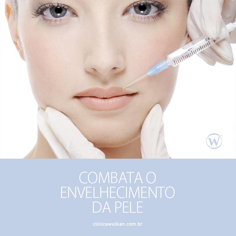 Combata o envelhecimento da pele