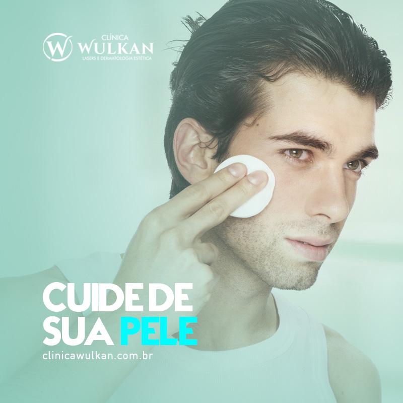 Cuide de sua pele