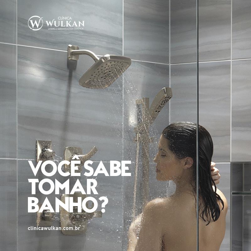 Como se banhar e tomar banho corretamente?