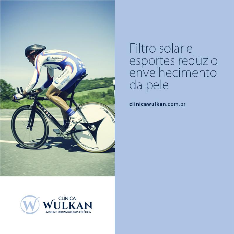 Filtro solar e esportes