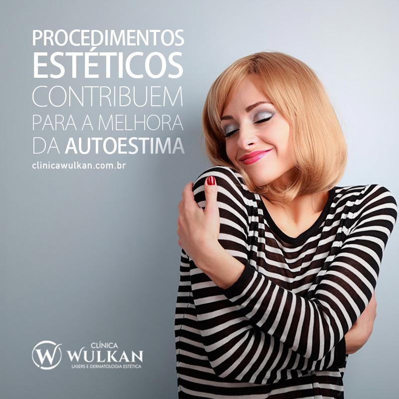 Procedimentos estéticos contribuem para a melhora da autoestima