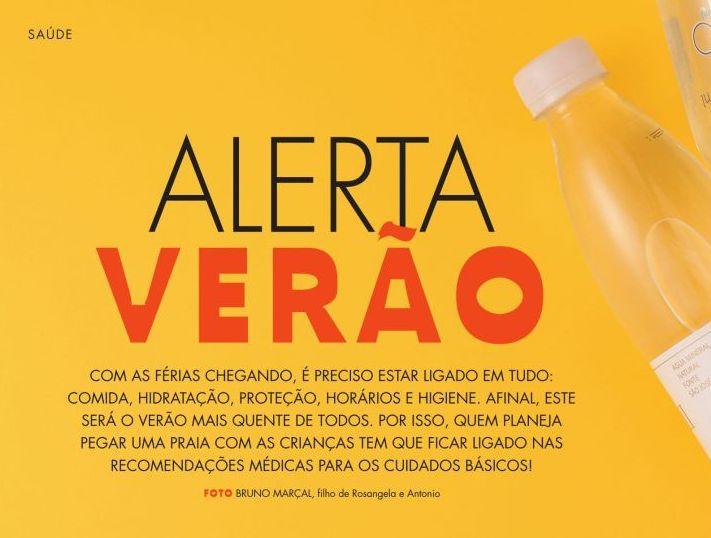 ALERTA VERÃO