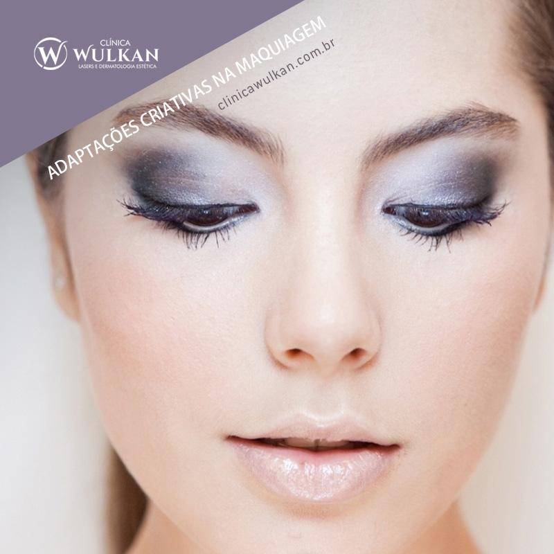 Adaptações criativas na maquiagem