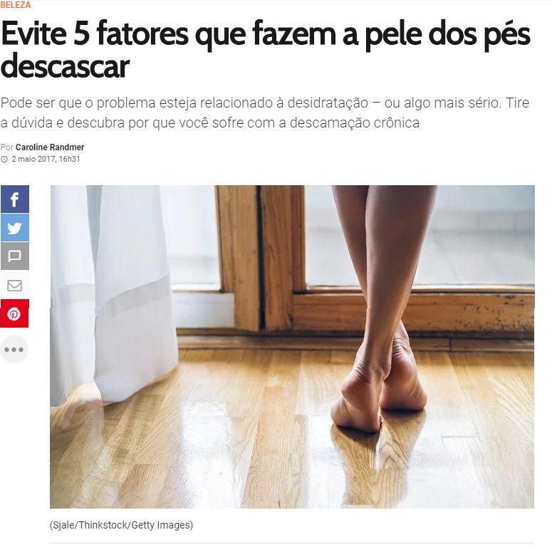 evite 5 fatores que fazem o pé descascar