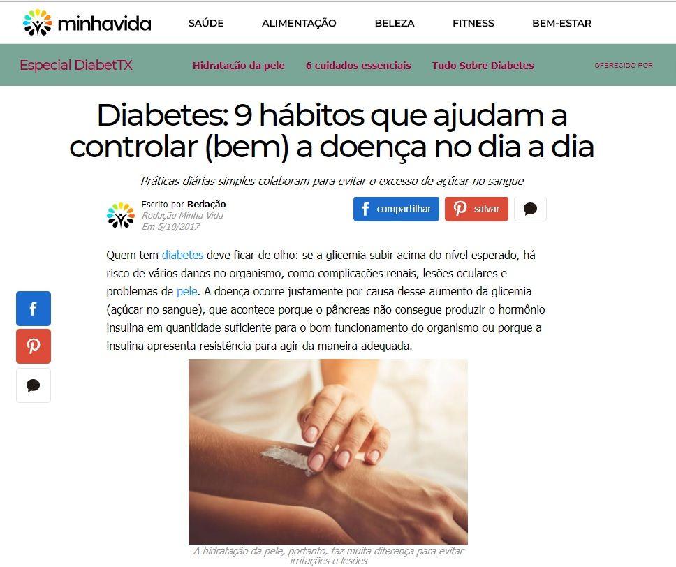 9 habitos que ajudam a controlar a diabetes