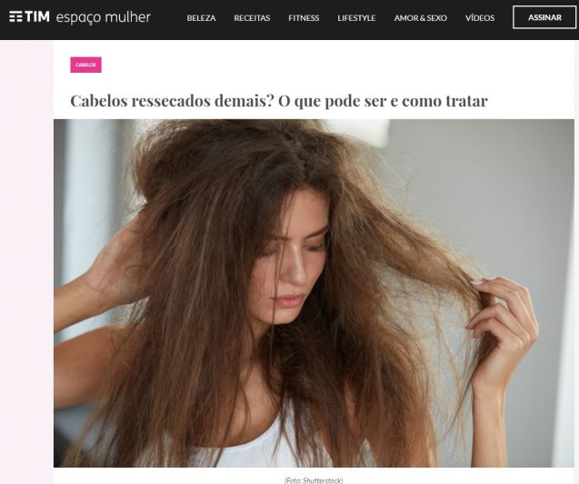 capa cabelos ressecados - clinica wulkan