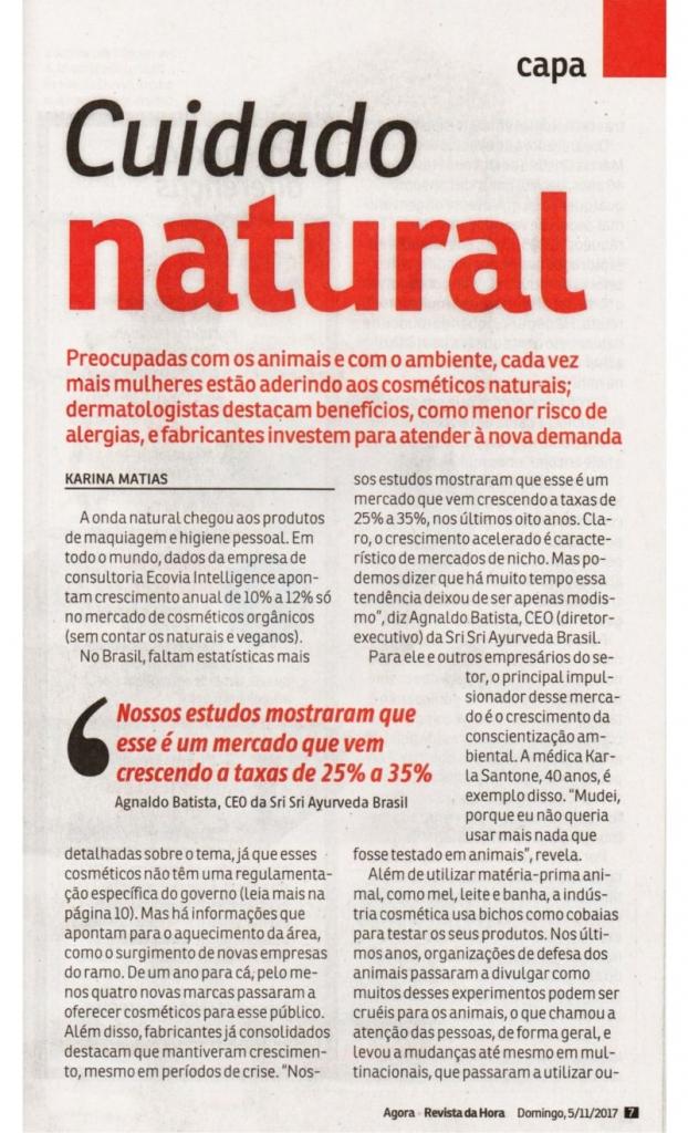 cuidados naturais