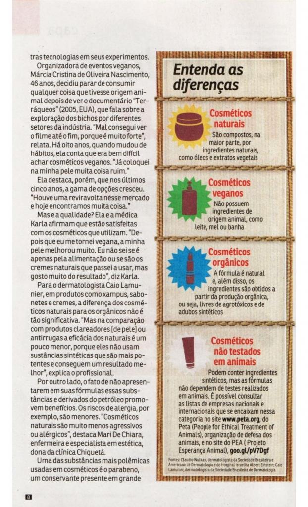 cuidados naturais - cosmeticos naturais