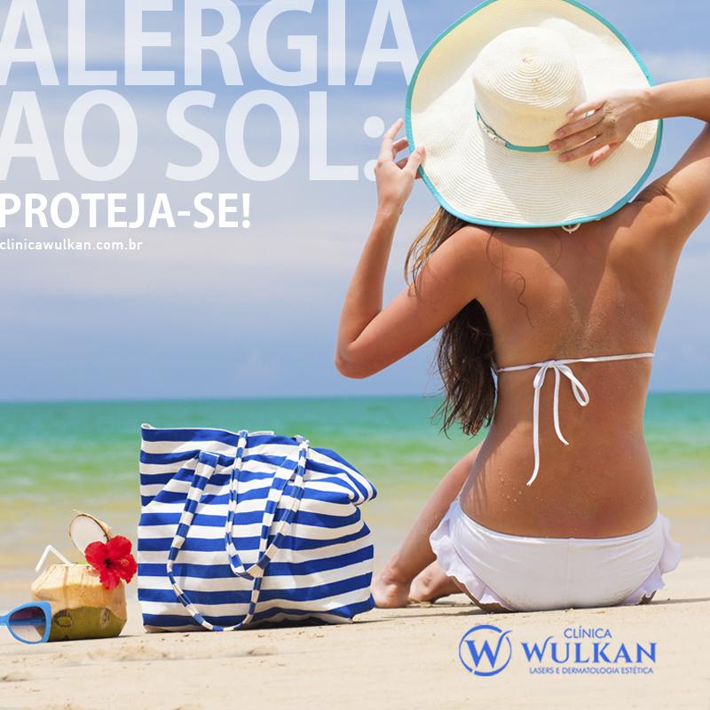Alergia ao sol: proteja-se!