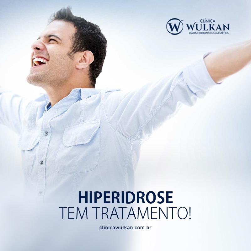 Hiperidrose tem tratamento!