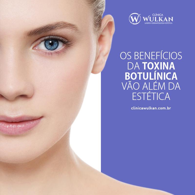 Os benefícios da toxina botulínica vão além da estética