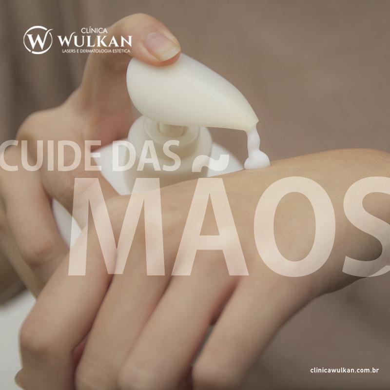 Cuide das mãos!