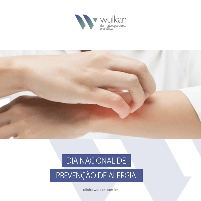 Dia Nacional de Prevenção de Alergia