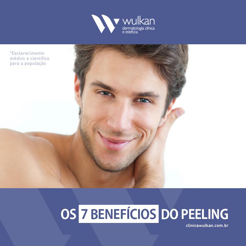 Os 7 benefícios do peeling